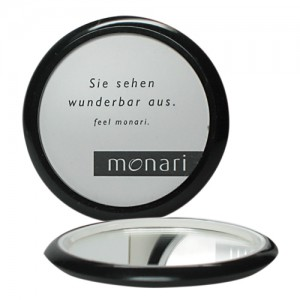 Spiegel mit innenseiter Werbeinlagen oder Fotoeinlagen für die Tasche