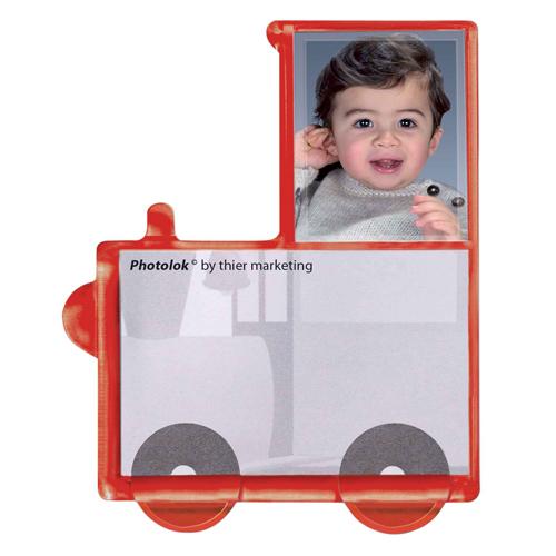 Modell Photolok weiss (ist ein Fotomagnet)