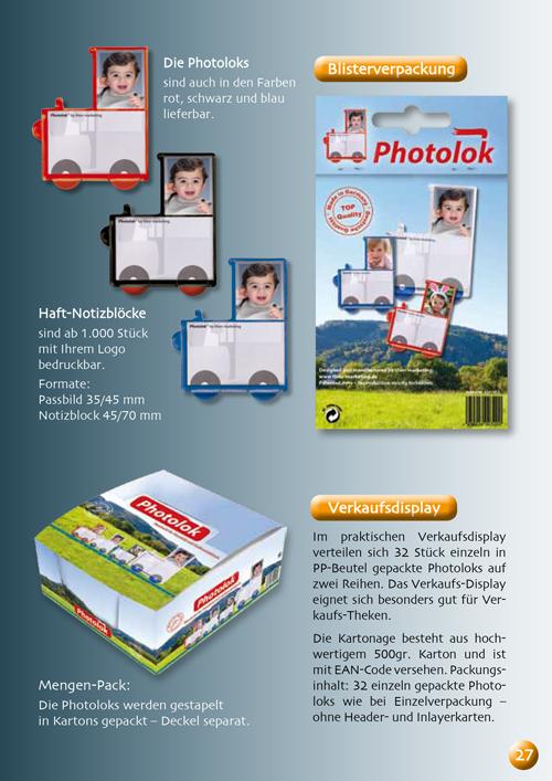 Photolok in der handelsfertigen Verpackung oder die praktische Display-Box für Ihre Verkaufstheke Teil 2